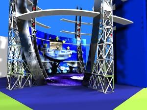 3d Stand Aerospaziale