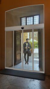 Palazzo Venezia (Roma)-Fotoritocco con 3D installazione porte scorrevoli